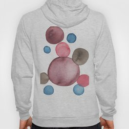 Color Sphere Circle Watercolor Hoody