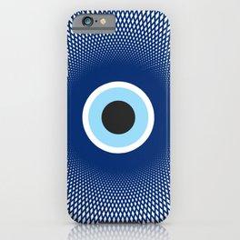 Evil Eye Geometric Line Art iPhone Case