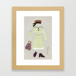 Anne of Green Gables Outfit, 1 Framed Art Print