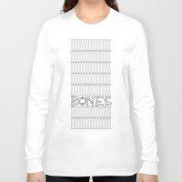 bones Long Sleeve T-shirts featuring Bones by Sara Eshak