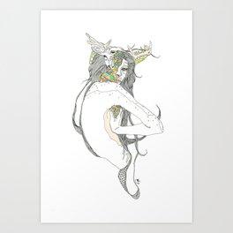 colour blind II Art Print