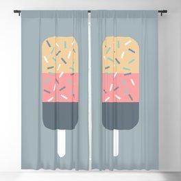 Popsicle (Blue) Blackout Curtain