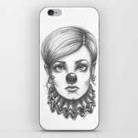 clown iPhone & iPod Skins featuring Clown by Robin Ewers