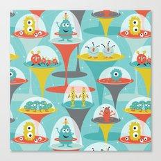 Alien Incubators Canvas Print
