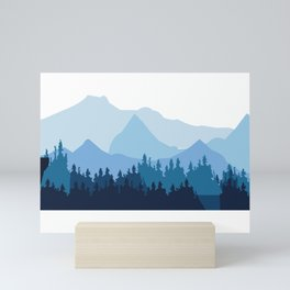 Mountaineer Mini Art Print