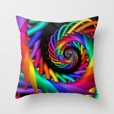 spiral -1- Throw Pillow