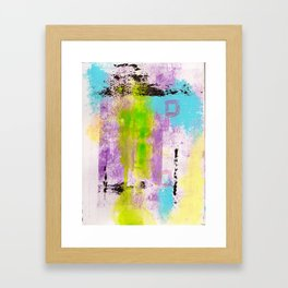 Abstract Life Framed Art Print