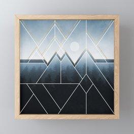 Fading North Framed Mini Art Print