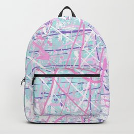 Flight of Color - pink turquoise Backpack