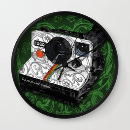 Horror Vacui - POLAROID Wall Clock