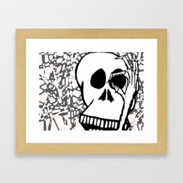 No See You Framed Art Print