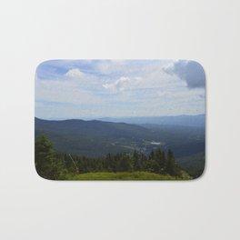 Stowe, Vermont Mountains Bath Mat