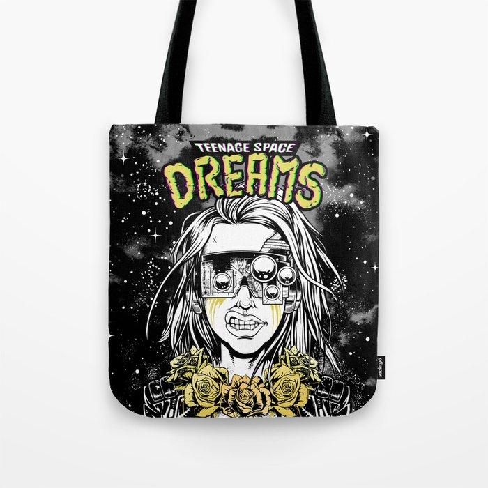 TEENAGE SPACE DREAMS Tote Bag