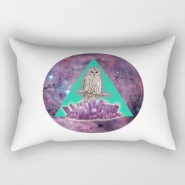 Owl Crystal Rectangular Pillow