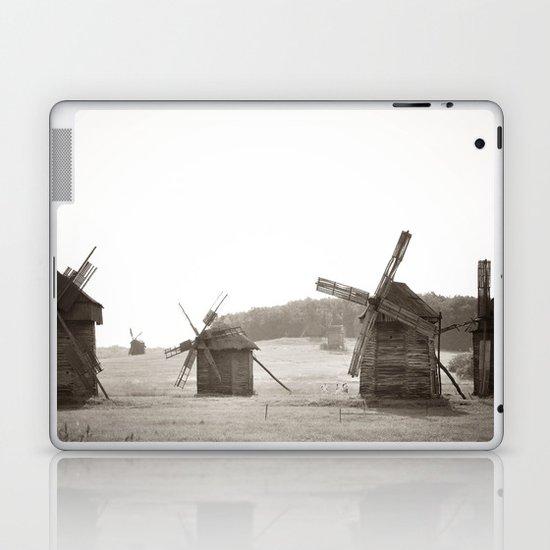 Forrest of windmills Laptop & iPad Skin