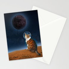 Meowter Space Stationery Cards