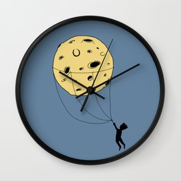Catching the Moon Wall Clock