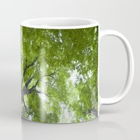 jewish Mugs featuring Leaves and Lace by Brown Eyed Lady
