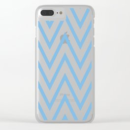 Simplified motives pattern 13 Clear iPhone Case