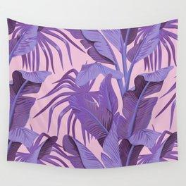 Tropical '17 - Starling [Banana Leaves] Wall Tapestry