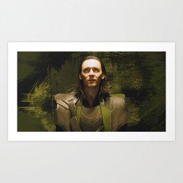King of Chaos Art Print