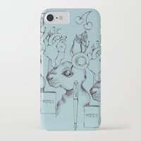 indie iPhone & iPod Cases featuring Indie Rabbit by AurorA