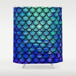 Ocean Mermaid scales Shower Curtain