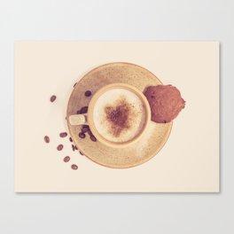 Vintage Coffee Love Photography Canvas Print