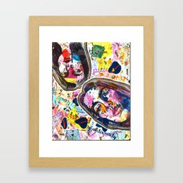 Spontaneity Framed Art Print
