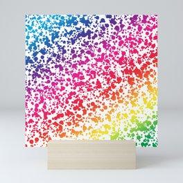 Rainbow Dots Mini Art Print