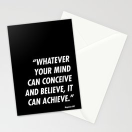 Conceive-Believe-Achieve Stationery Cards