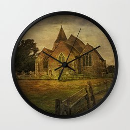 St Clement's Old Romney From The East Wall Clock