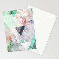Graphic 3 turquoise Stationery Cards