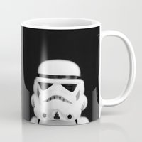 trooper Mugs featuring Trooper by Emma Harckham