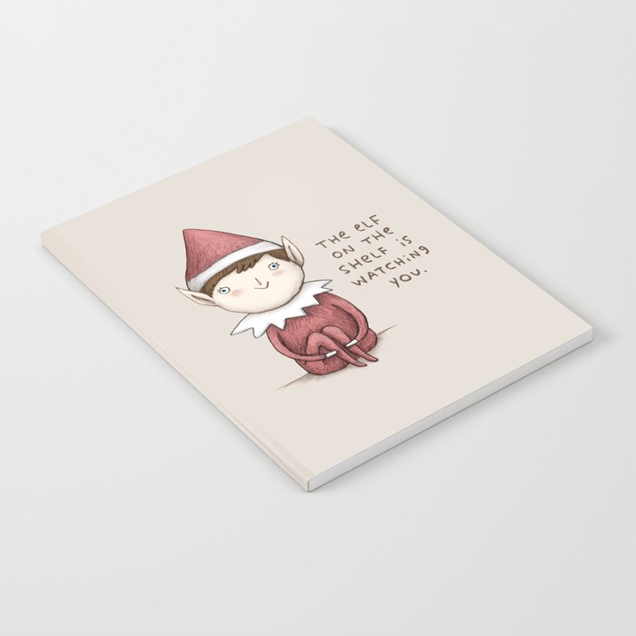 The Elf on The Shelf Notebook