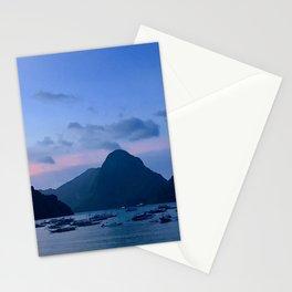 El Nido at night Stationery Cards