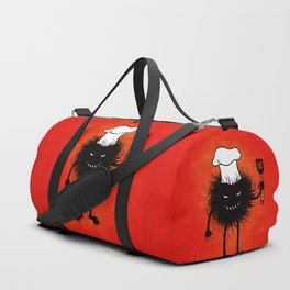 Evil Bug Chef Loves To Cook Duffle Bag