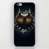 majora iPhone & iPod Skins featuring Epic Pure Evil of Majora's Mask by Barrett Biggers