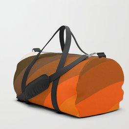 Retro Golden Rainbow - Left Side Duffle Bag