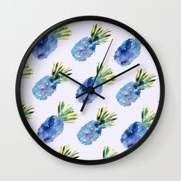 Pineapple vibes #2 Wall Clock