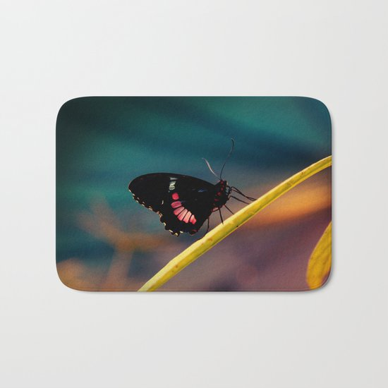 Butterfly#2 Bath Mat