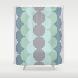 Gradual Mint Shower Curtain