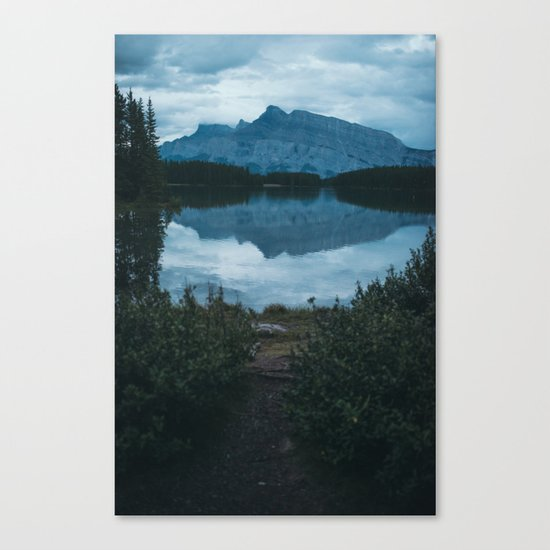 Two Jack Lake Canvas Print