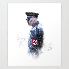Nazi Zombie Art Print