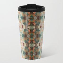 Isometric Grunge Travel Mug