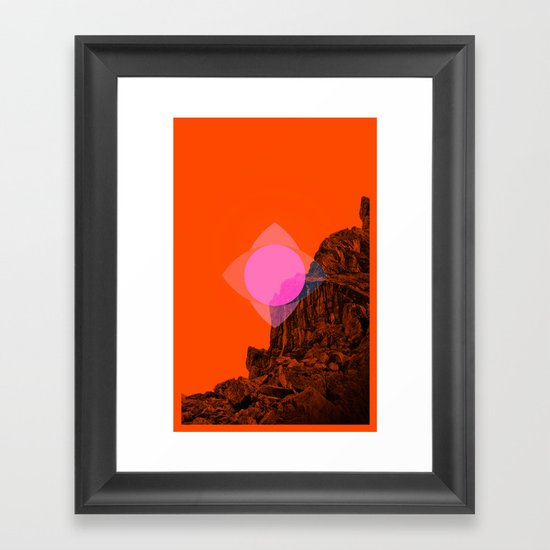 Start Something New Framed Art Print