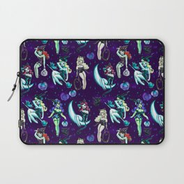Witches and Black Cats Laptop Sleeve