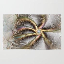 Wall Decor, Abstract Fractal Art Rug