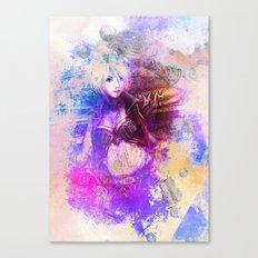 Vaquera Canvas Print
