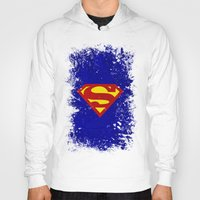 superman Hoodies featuring Superman by Some_Designs